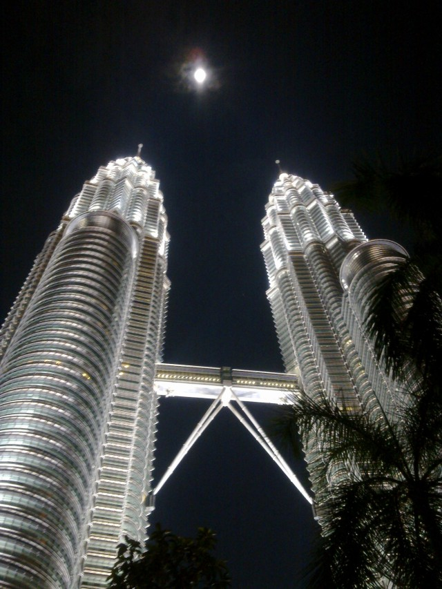 Petronas and the Moon, KL