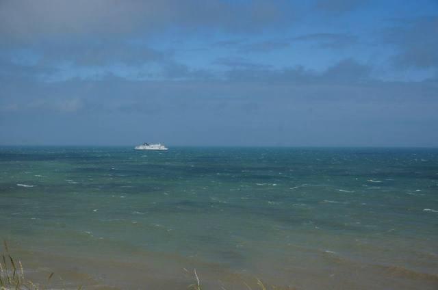 white cliffs sea